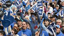 Nordiques fans rally in Quebec for the return of the team in this 2010 file photo. (Jacques Boissinot/The Canadian Press/Jacques Boissinot/The Canadian Press)