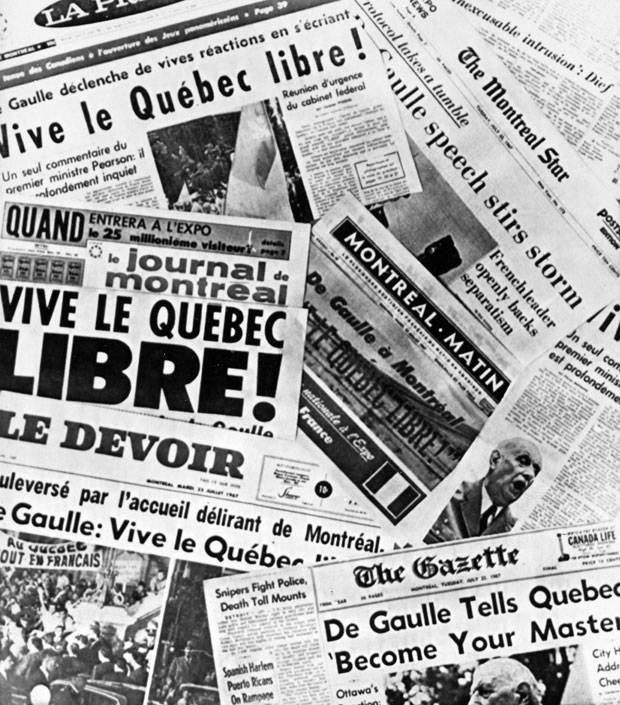 5cb6bd4f1df July 26  Montreal s French- and English-language newspapers react to the  speech. THE CANADIAN PRESS
