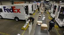 FedEx's performance suggests the slump investors expect may not depress share values. (Fred Prouser/REUTERS)
