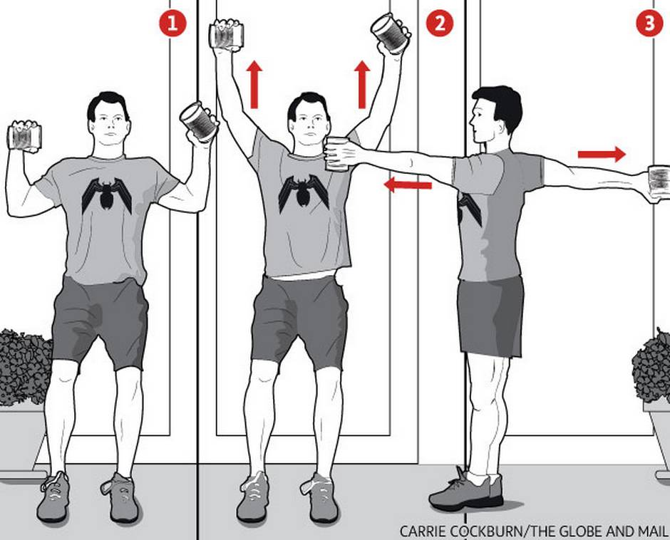 Stealth workout: You can do it – all you need are cans