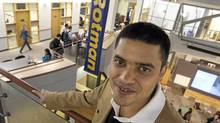 Avinash Raj gets up at 5 a.m. to attend his Rotman School of Management early-morning MBA classes, since he also works full-time at CIBC. (Deborah Baic/Deborah Baic/The Globe and Mail)