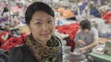Kathy Cheng is president of Toronto-based clothing manufacturer WS & Co. Ltd., founded by her Chinese immigrant father 25 years ago. (Pawel Dwulit For The Globe and Mail)