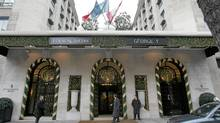 The George V hotel in Paris: Outside North America, Priceline.com drops its name-your-own-price model and uses a traditional booking model that has allowed it to become the world's biggest seller of hotel rooms. (REMY DE LA MAUVINIERE/AP)