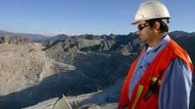 Xstrata's Minera Alumbrera open pit mine in Argentina. (Xstrata/Xstrata)