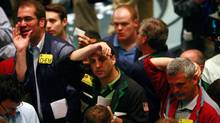 rs work in the crude oil options pit at the New York Mercantile Exchange