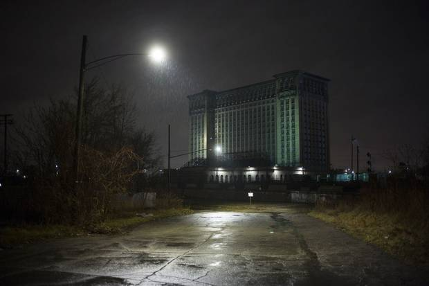 Michigan Central Depot closed its doors in the 1980s. It has stood empty since then.