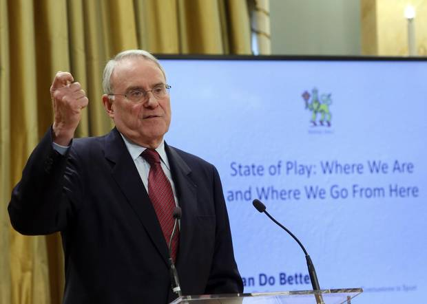 Ken Dryden, the former NHL legend and federal cabinet minister, has spent years driving home the dangers of concussions.