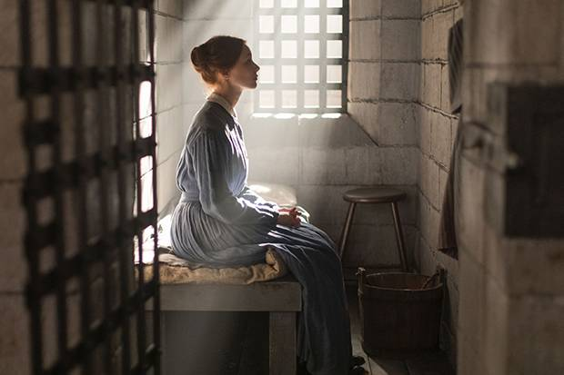 In Alias Grace, Sarah Gadon plays Grace Marks, a woman imprisoned for murdering her employer and his mistress. The series unites Gadon with a group of influential women in film, including the production's writer and producer Sarah Polley and director Mary Harron.