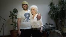 Producer and musician Daniel Lanois will be taking a road trip with his mother to collect his Governor General's Lifetime Achievement Award. (Moe Doiron/The Globe and Mail)