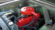 The way it used to be: The engine compartment of an early-1960's Ford Falcon shows how accessible and easy to understand cars used to be. In the 1960's and 1970's. do-it-yourself mehanics abounded. (Peter Cheney for The Globe and Mail)