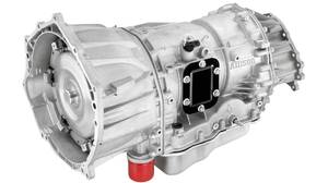 2011 Allison 1000 (MW7) six-speed RWD automatic transmission for Chevrolet Silverado HD and GMC Sierra HD.