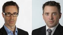 Simon Houpt and Steve Ladurantaye (Deborah Baic and Fred Lum/The Globe and Mail)