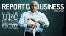 Georges St.-Pierre in a story about UFC for Report on Business Magazine - April 2011 cover