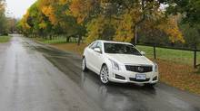 2013 Cadillac ATS (Dan Proudfoot for the Globe and Mail)