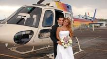 Arturo Gatti and Amanda Rodrigues on their wedding day. (THE CANADIAN PRESS/THE CANADIAN PRESS)