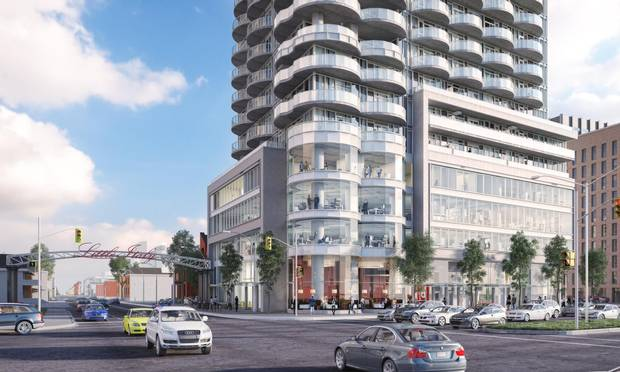 A growing number of Ottawa buildings are eclipsing 92 metres – the traditional height restriction so that the Peace Tower would stand out. Later this year, the Claridge Icon will become the city's tallest residential condo.
