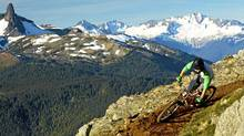 Mountain bike trail at Whistler Blackcomb. (Handout/Handout)