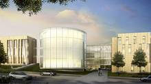 An Artist's rendering of the new Global Innovation Exchange building at Wilfrid Laurier University in Waterloo, Ont. (Wilfrid Laurier)