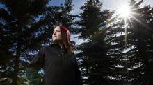 Dani Polsom, a 27-year-old from Airdrie, Alta., says she was sexually assaulted as a child, but her case was dismissed last October because of delays in bringing it to trial. (Chris Bolin for The Globe and Mail)