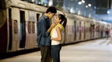 Dev Patel, (left) and Freida Pinto star in the 2008 film Slumdog Millionaire.
