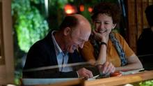 Annette Bening and Ed Harris in The Face of Love.