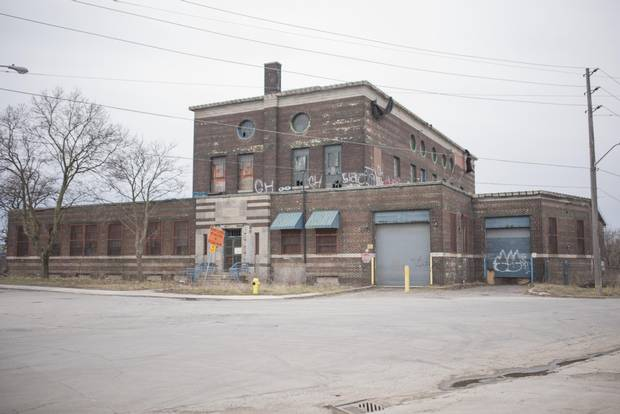 The building in 2016, before renovations. The city declared the property surplus in 2009 and listed it for sale.