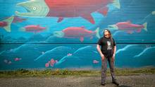Don Staniford, of The Global Alliance Against Industrial Aquaculture, poses for a photograph in Vancouver, B.C. (Darryl Dyck/The Canadian Press/Darryl Dyck/The Canadian Press)