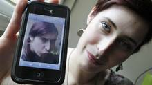 Sabrina Lemire-Rodger wants to see the iPhone 5, expected in the fall, before she replaces her cracked iPhone 3Gs. (Peter Power/The Globe and Mail)