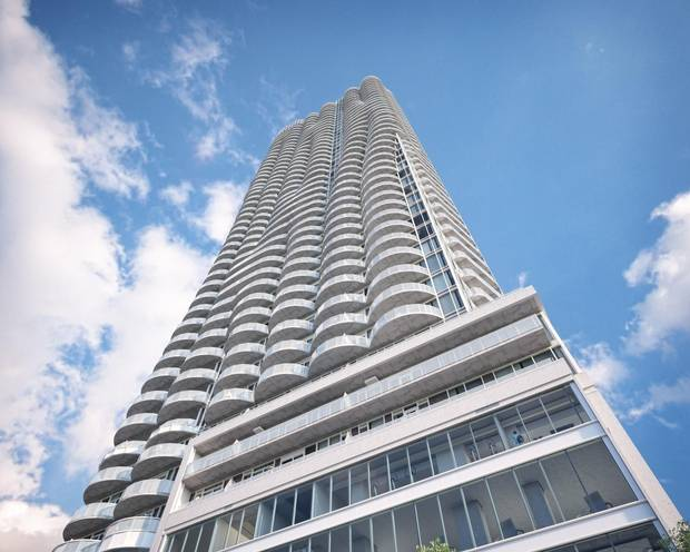 Rendering of the 45-storey Claridge Icon, set to be Ottawa's tallest residential condo when completed this year (2018).