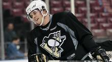 Sidney Crosby skates during practice in Sunrise, Fla., Jan. 13, 2012. (Alan Diaz/Associated Press/Alan Diaz/Associated Press)