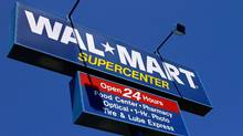 New store openings in the U.S. and abroad have driven 5 per cent average sales growth over five years at Wal-Mart. Yet gross margins have barely improved over that period. (Seth Perlman/Seth Perlman/Associated Press)