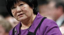 International Co-operation Minister Bev Oda speaks during Question Period in the House of Commons on Feb. 14, 2011. (CHRIS WATTIE/Reuters)
