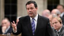 Minister of Employment and Social Development Jason Kenney responds to a question during Question Period in the House of Commons on Parliament Hill in Ottawa on Monday, December 9, 2013. (Sean Kilpatrick/THE CANADIAN PRESS)