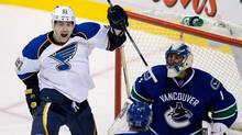 St. Louis Blues' Patrik Berglund (DARRYL DYCK/THE CANADIAN PRESS)