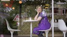 Mary Macintyre, owner of Little Nest, laments the doubling of her rent as her kid-friendly restaurant closes. (John Lehmann/The Globe and Mail)