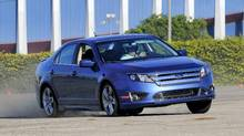 2010 Ford Fusion Hybrid (Ford/© 2008 Ford Motor Company)