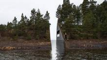 In this image made available the Jonas Dahlberg Studio on Thursday March 6, 2014 shows an illustration artwork from Swedish artist Jonas Dahlberg who is the winner of the competition of 22 July Memorial in Norway. (Jonas Dahlberg Studio/AP)