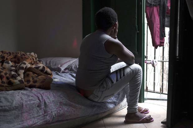 This 30-year-old woman from Benin City, Nigeria, was forced into the sex trade in Italy. Hers is an increasingly common fate for African women in Palermo, where sexual slavery is enforced with threats of violence and deportation by gang leaders.