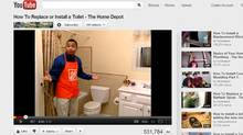 Home Depot found some success by posting informational videos that mirrored common search terms on Google. (YOUTUBE.COM)