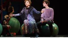 Former SCTV star Andrea Martin was nominated for her show-stopping acrobatic performance as swingin' grandmother, Berthe, in Pippin. (©2012 Joan Marcus)