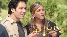 "Paul Rudd and Jennifer Aniston in a scene from ""Wanderlust."" (AP/Universal Pictures)"
