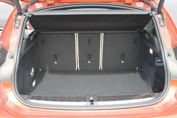There are 470 litres of space behind the rear seats, and 1,355 litres if you fold down the rear seats.