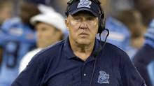 Toronto Argonauts head coach Don Matthews from 2008 (FRED THORNHILL/REUTERS)