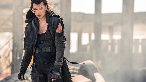 Milla Jovovich stars in Resident Evil: The Final Chapter.