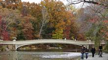 New York's Central Park can keep families busy all day with its trails, playgrounds and Children's Zoo. (Lucas Jackson/Reuters)