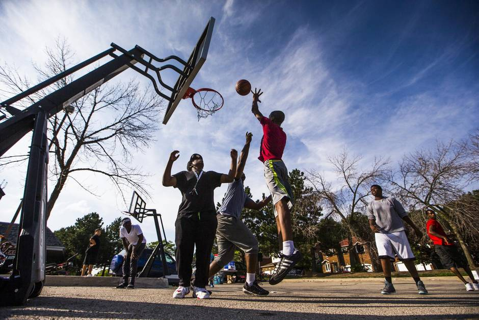 Courting Controversy Push For Public Basketball Courts Runs Up