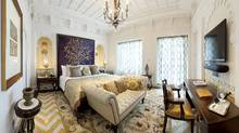 The Rajput suite in the Taj Mahal Hotel.