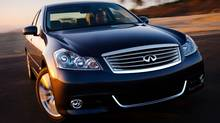 Infiniti M37 is Consumer Reports' top-rated mid-sized luxury sedan (Nissan)
