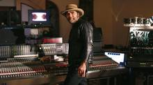 Producer and musician Daniel Lanois, has collaborated with artists such as Brian Eno, Bob Dylan and U2, will be honoured at a tribute concert June 10 at Massey Hall as part of Luminato. (Moe Doiron/The Globe and Mail)