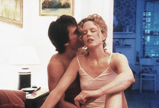 Nicole Kidman and Tom Cruise in Eyes Wide Shut.